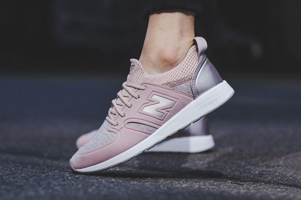new balance mujer rosa oro