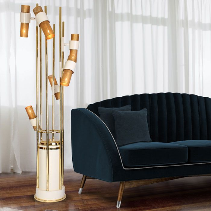 Named after the large aquatic grasses. the Reed floor lamp ...