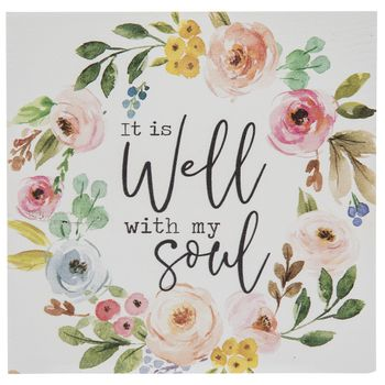 It Is Well With My Soul Wood Decor | Hobby Lobby | 1879436