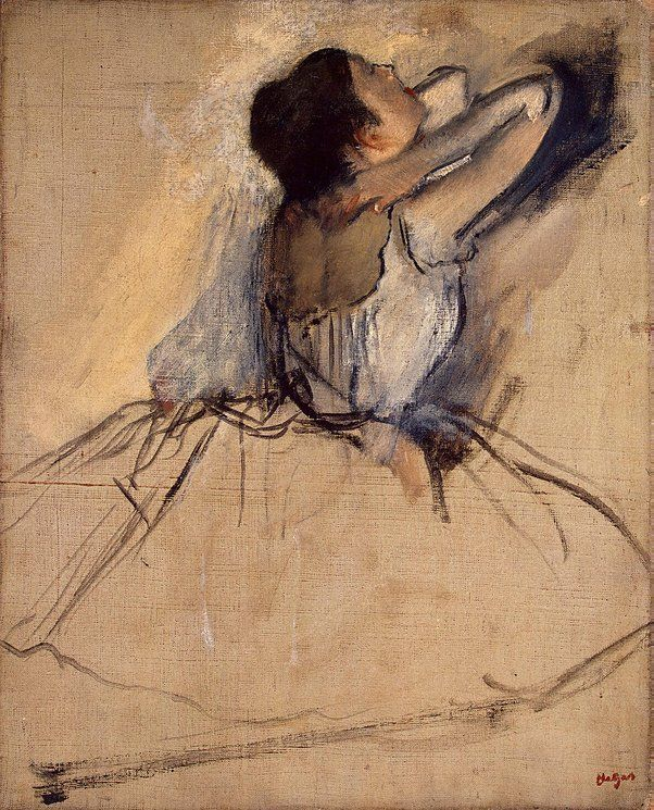 Dancer - Edgar Degas | Oil on canvas, The o'jays and Dancers