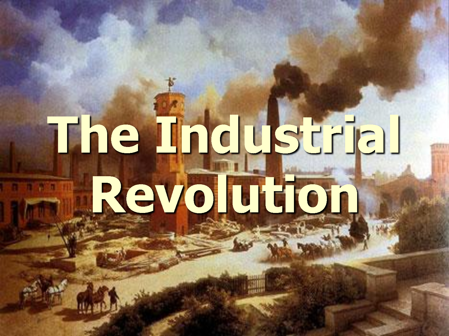 Interesting Industrial Revolution Timeline From 1712 To 1942 With