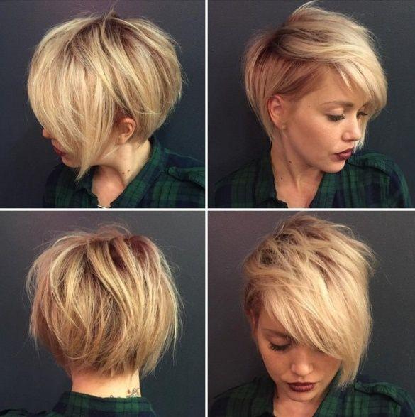 30 Stilvolle Kurze Frisuren Fur Frauen Und Madchen Frisur Kurz Rundes Gesicht Haarschnitt Kurz Frisuren Kurz
