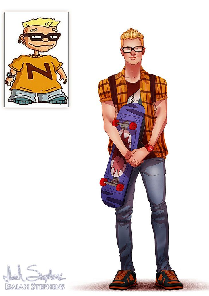 See Your Favorite Childhood Cartoons All Grown Up Rocket Power - Favourite childhood cartoons look real life
