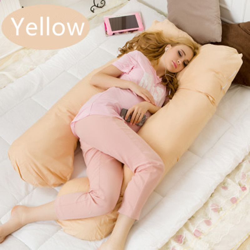 u forme maternite oreillers grossesse confortable body grossesse oreiller femmes enceintes side sleepers coussin 130