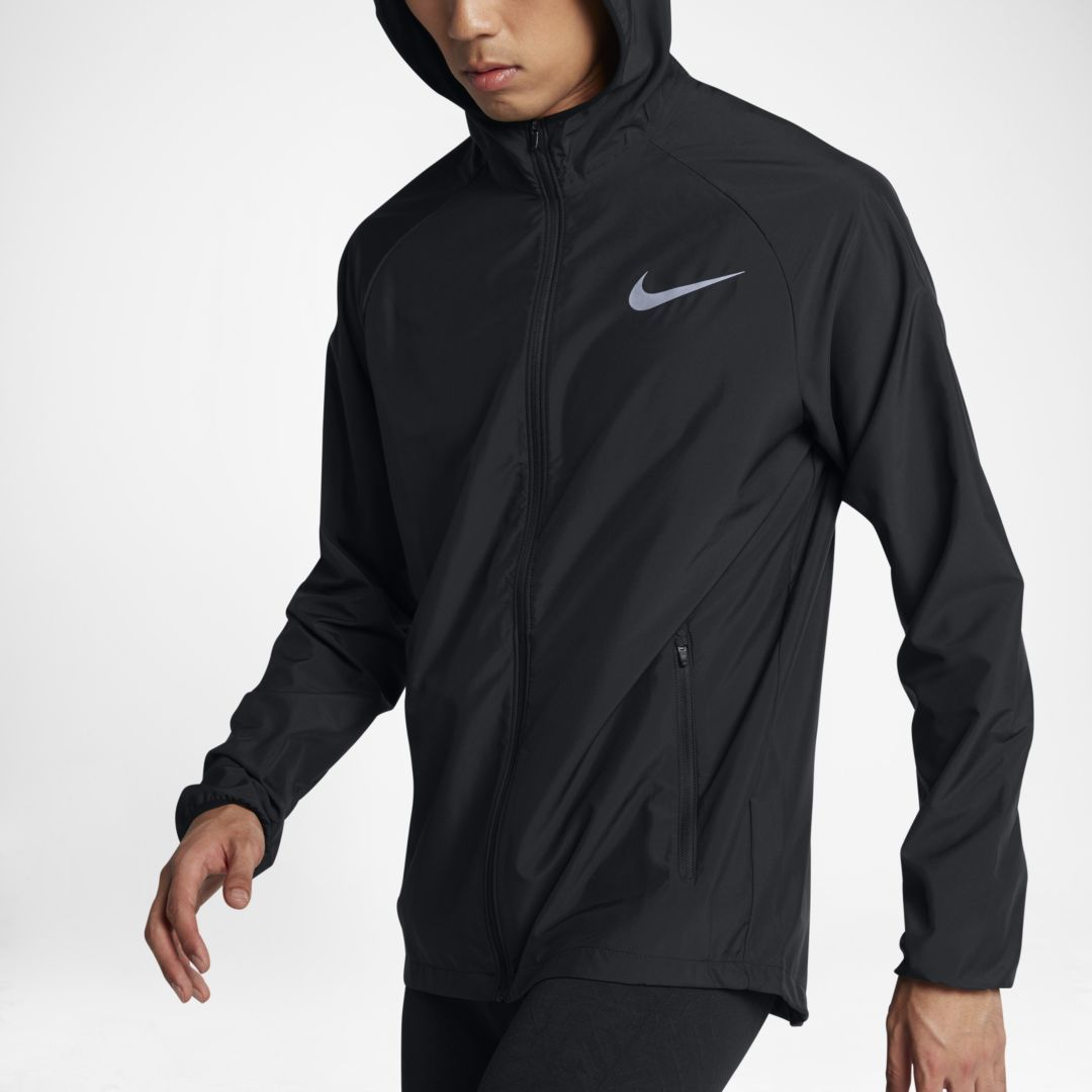 dorado Por cierto puntada  Nike Essential Men's Running Jacket Size 2XL (Black)