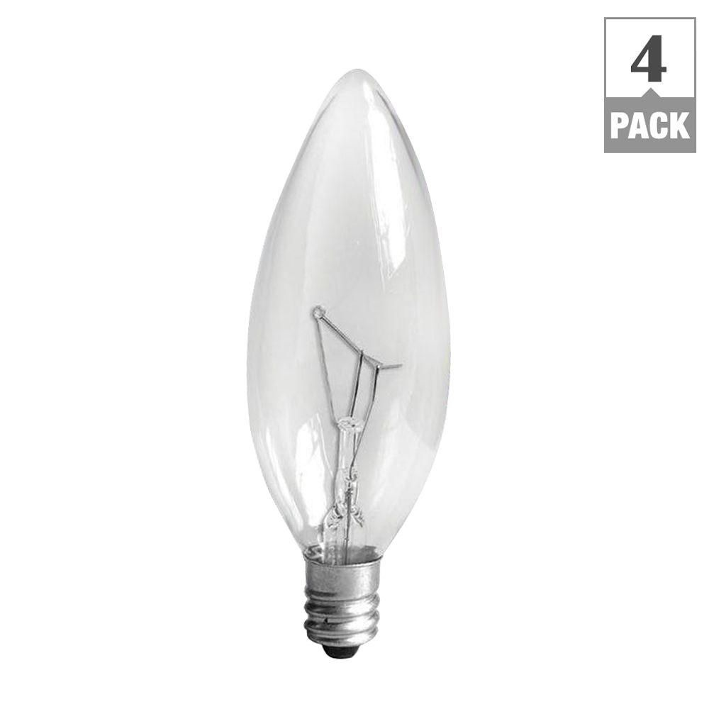 25 Watt Candelabra Light Bulbs