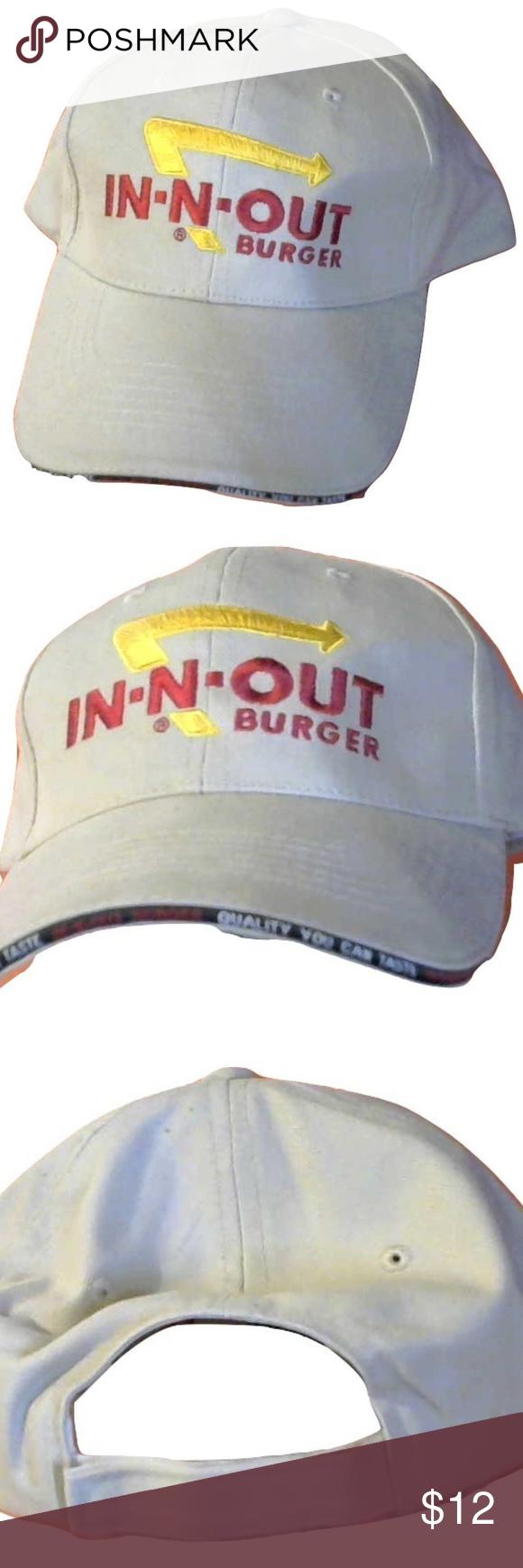 In N Out Burger Ball Cap Ball Cap In N Out Burger Hat Outside Accessories Hats Ball Cap In N Out Burger Burger