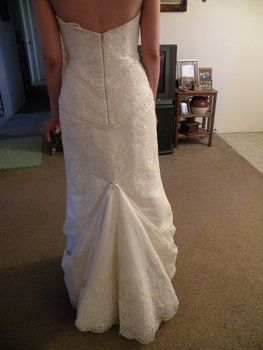 Traditional Over Bustle All About Bustles In 2019 Wedding