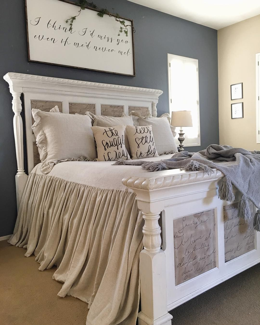 Master bedroom accent wall  Pin by Cassie Posey on Home Decor that I love  Pinterest  Bedrooms