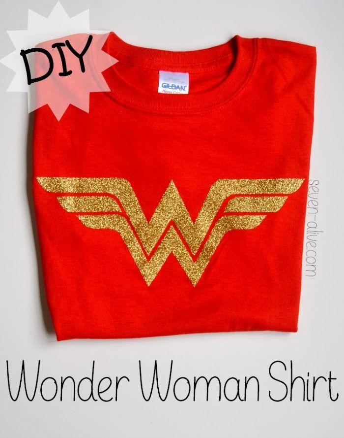 Diy Wonder Woman Shirt