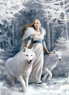 Photo of Puzzle 1.000 Teile Anne Stokes Collection – Winter Wächter