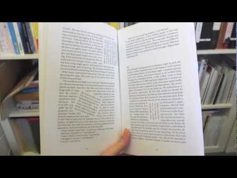 """Kapow!"" by Adam Thirlwell. A 12 second video showing some of the different pages."