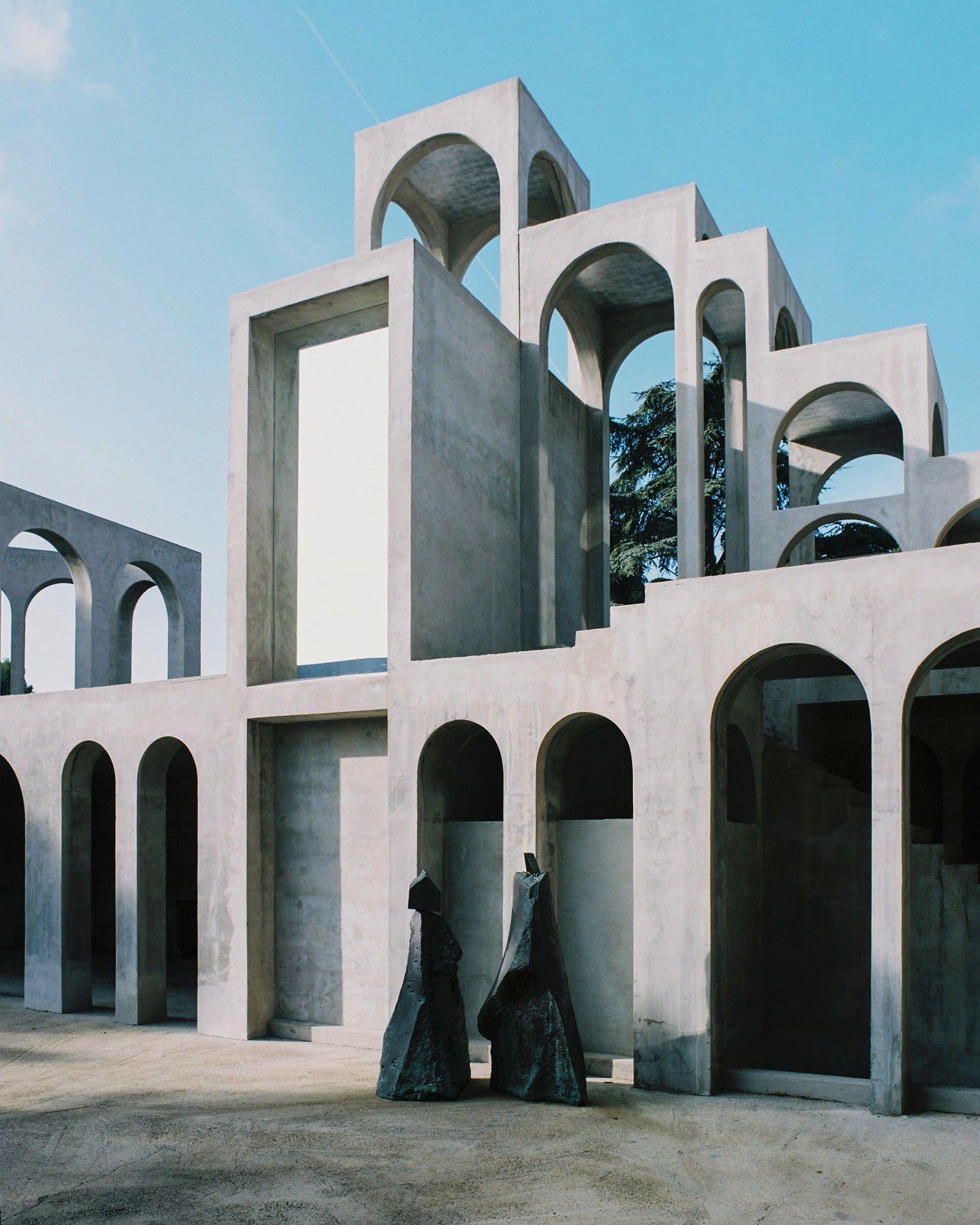 Хавьер Корберо. Дом-башня скульптора | A R C H | Pinterest ...