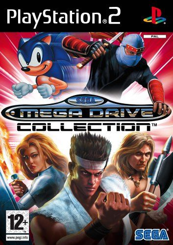 Sega Mega Drive Collection Ps2 Amazon Co Uk Pc Video Games