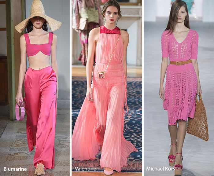 Spring/ Summer 2017 Color Trends: Shades of Pink