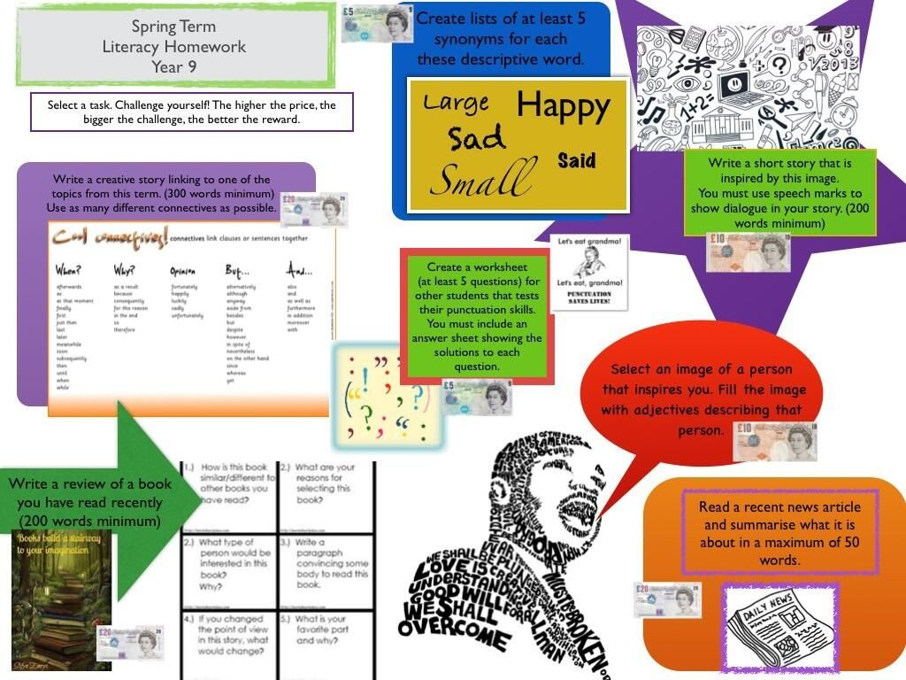 Homework writing services ideas year 5