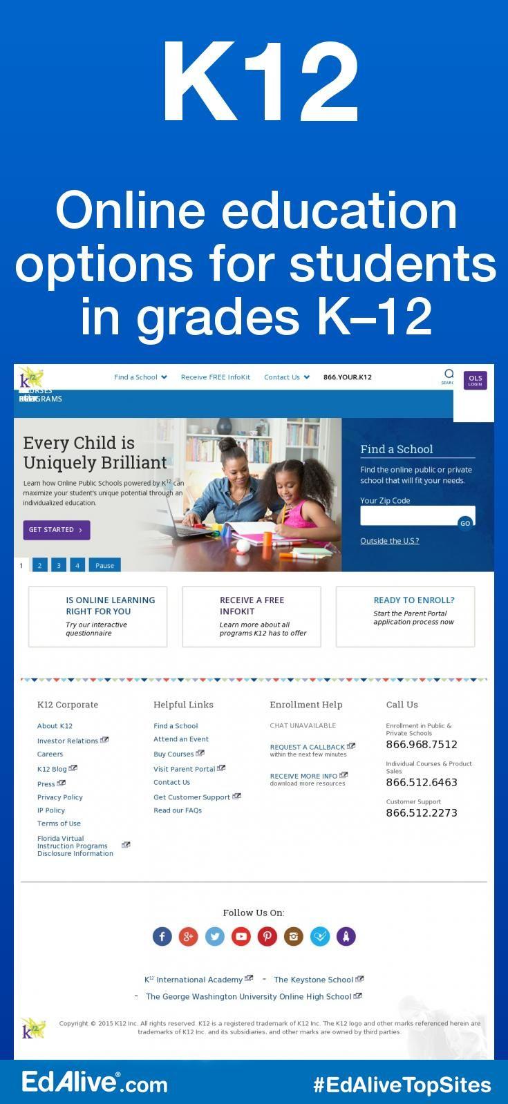 K12 Online Education Literacy Activities Kindergarten K12 Online