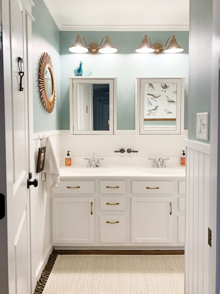 Photo of $100 Room Challenge Week Five – Guest Bathroom Reveal – Hilltown House