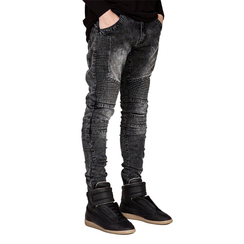 Hiphop Skinny Jeans For Men Price 27 90 Free Shipping Mens Jeans Slim Mens Fashion Denim Streetwear Jeans