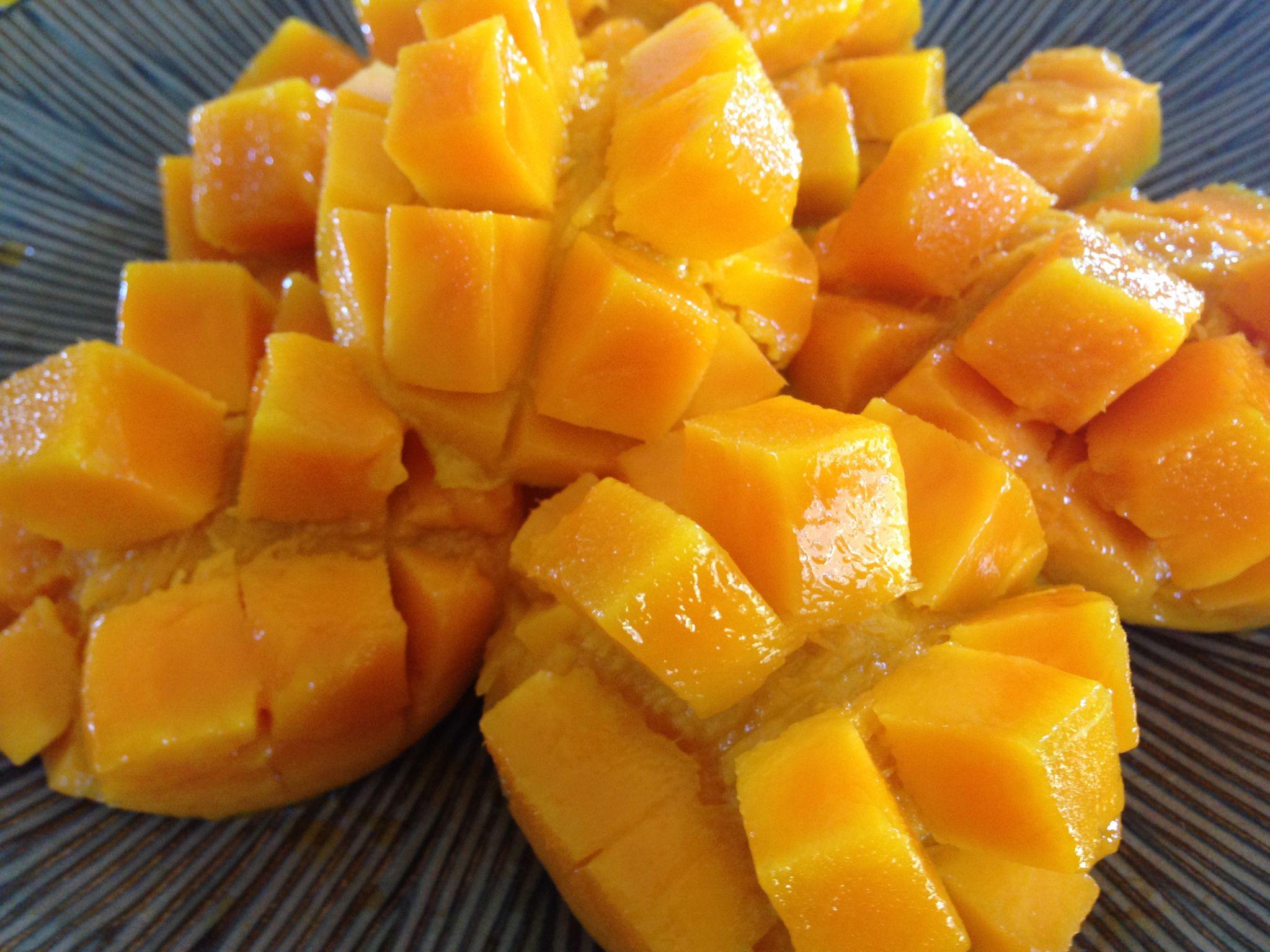 The Best Way To Eat Mango  Backyard Fruit Diaries
