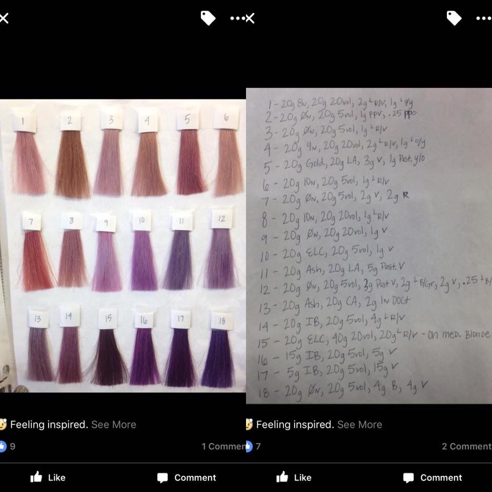 Not My Formulations Aveda Formulas Aveda Hair Color Aveda Color Aveda Hair