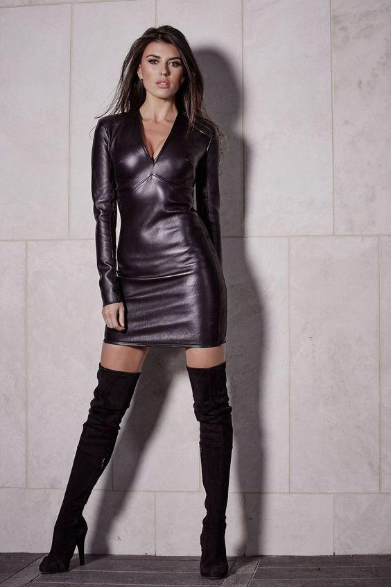 Women Sexy Lingerie Catsuit Lace Up Jumpsuit Black Bodycon