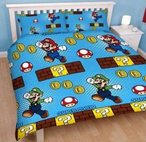 Nintendo Super Mario Bros. double duvet cover   Funda nórdica de