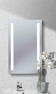 Crosswater Elite 50 Back Lit Mirror 800 X 500mm Lit Mirror Mirror Glass Mirror