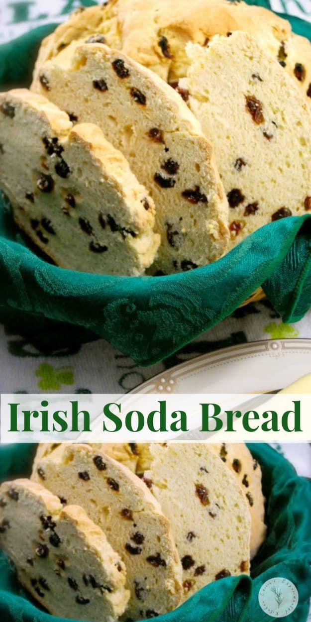 This homemade Irish Soda Bread made with buttermilk, flour ...