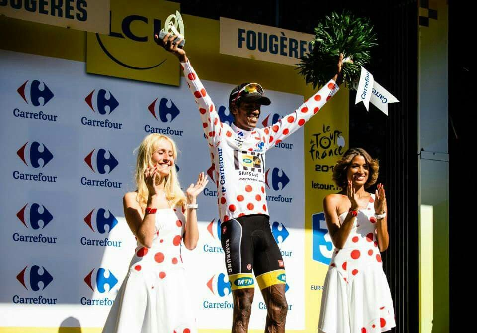 King of the Mountain, Stage 7, Tour de France 2015