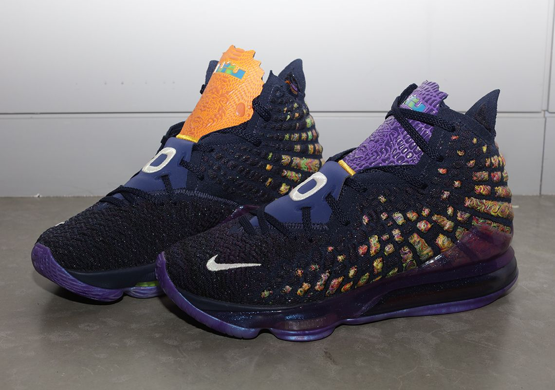 Nike And LeBron James Commemorate Space