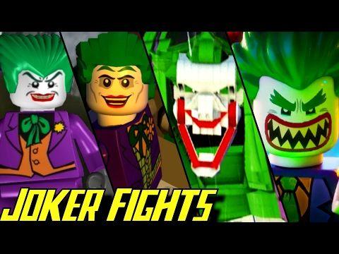 Evolution of Joker Battles in LEGO Batman Games (2008-2017 ...