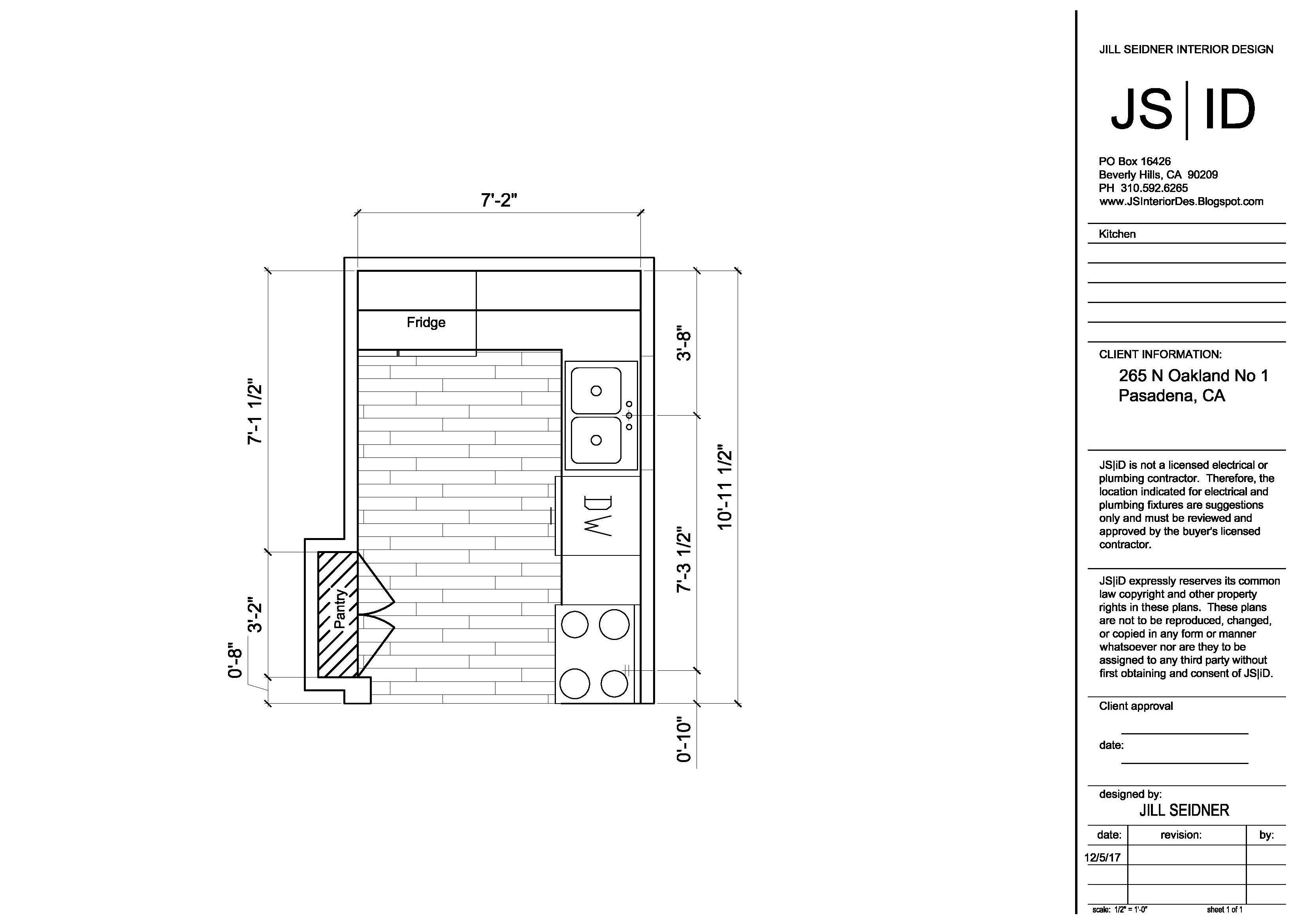 Pasadena Ca Tenant Improvement Project Kitchen Remodel Plan Mesmerizing Kitchen Design Drawings Inspiration Design