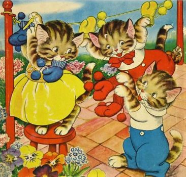 Solve Young At Heart Series Three Little Kittens Jigsaw Puzzle Online With 100 Pieces In 2020 Little Kittens Kittens Beautiful Pictures