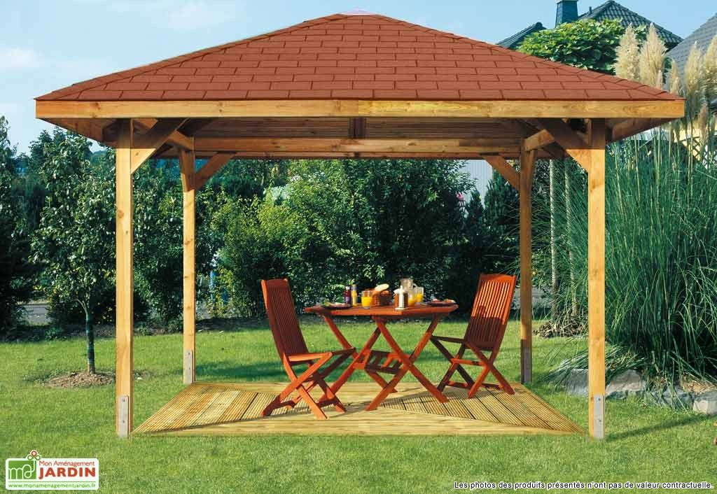 tonnelle bois paradies 5 480x480 kit tonnelles bois et pergola. Black Bedroom Furniture Sets. Home Design Ideas