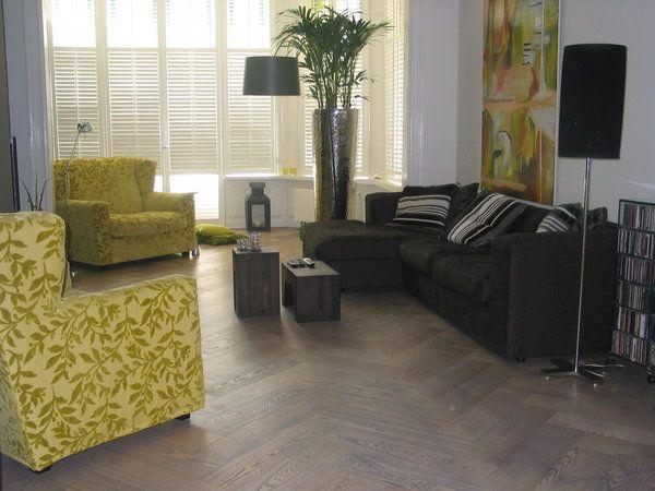 Moderne Visgraat Vloer : Moderne visgraat parket vloer sfeer foto s houten vloeren