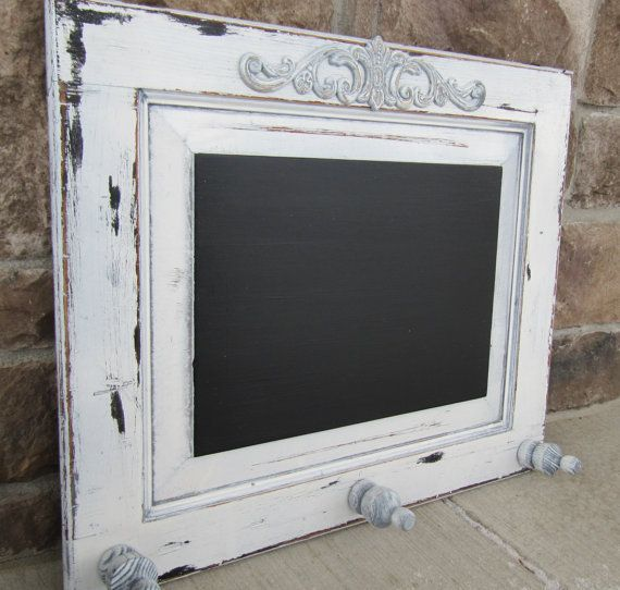 Repurposed Shabby Chic Vintage Chalkboard