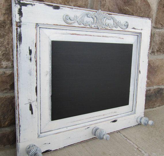 Repurposed cabinet door shabby chic vintage