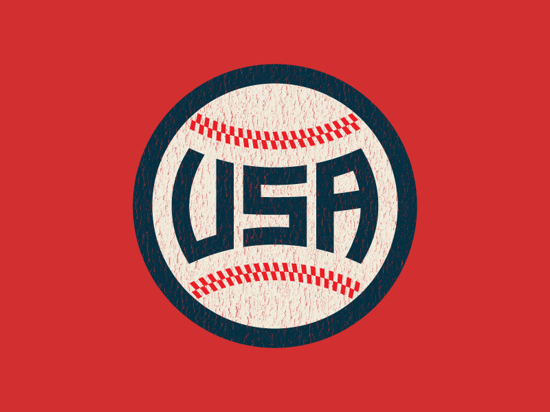 Usa Baseball Usa Baseball Baseball Design Baseball