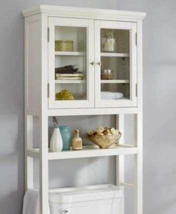 48+ ideas bath room shelves over toilet pottery barn