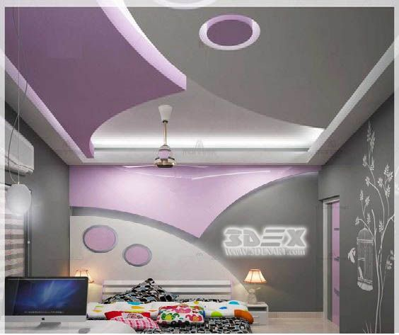 50 Indirect Lighting Design Ideas 2018: POP False Ceiling Designs 2018 For Hall POP Roof Ceiling