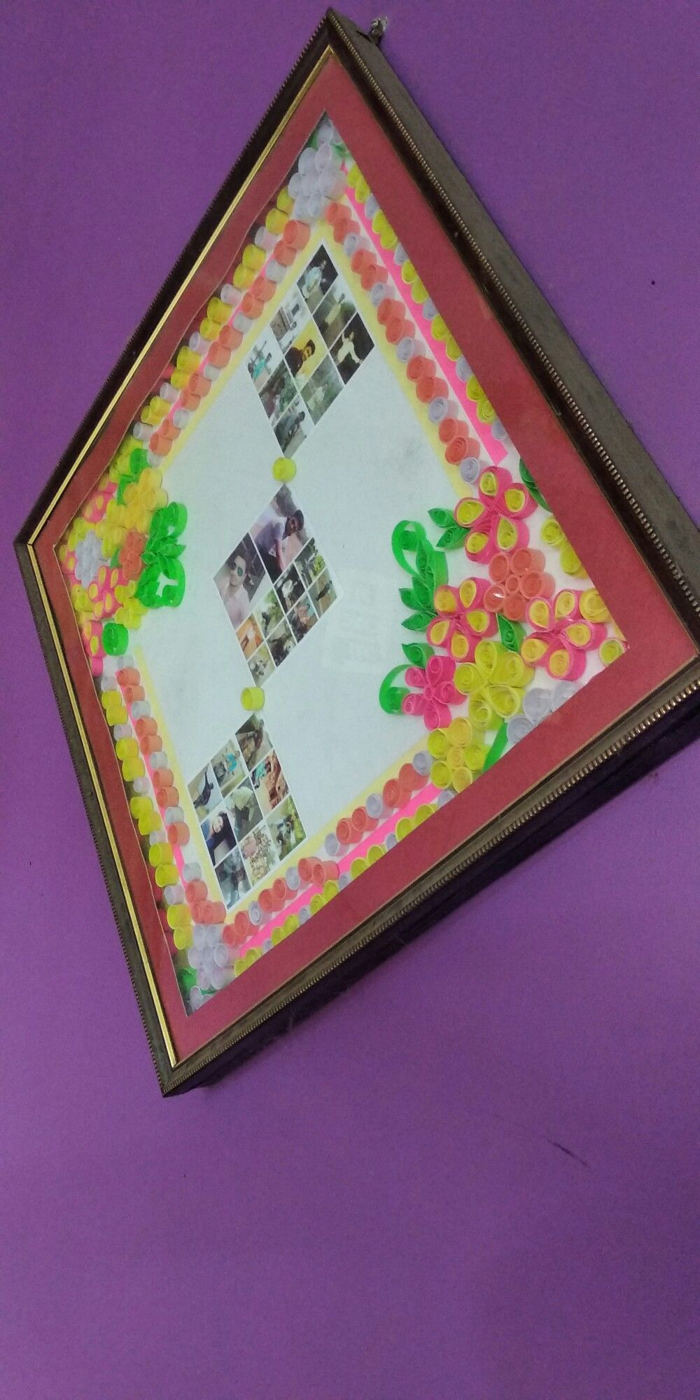 Its A Photo Frame Made Using Quilling Techniques Hope You