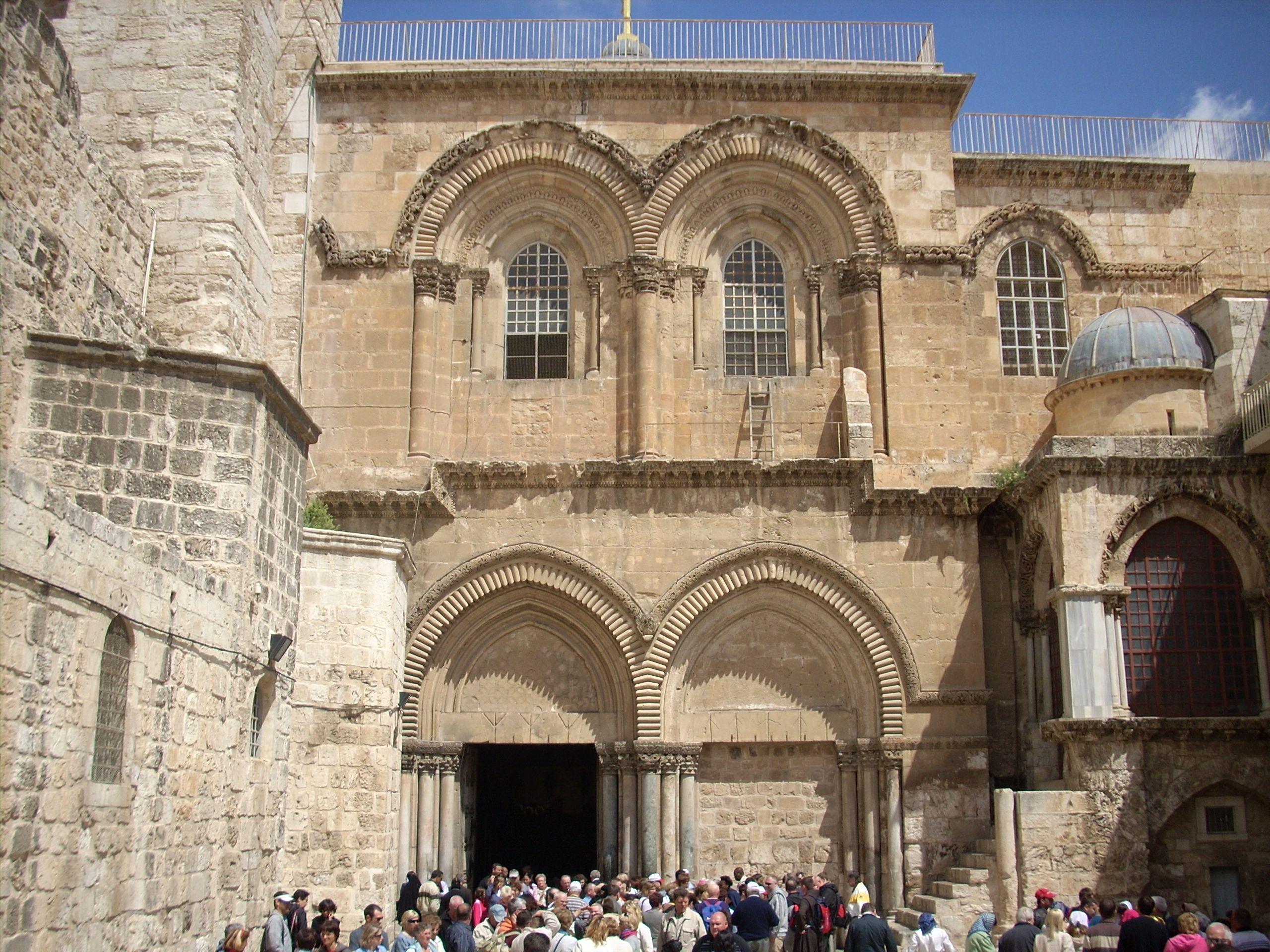 Basílica del Santo Sepulcro www.elpapaenisrael.com #ElPapaEnIsrael