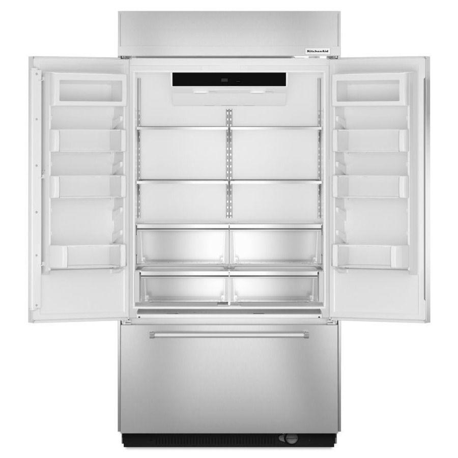 Kitchenaid 242cu ft builtin french door refrigerator