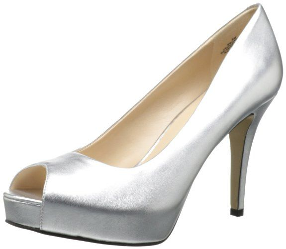 Amazon.com: Nine West Women's Camya Peep-Toe Pump: Shoes