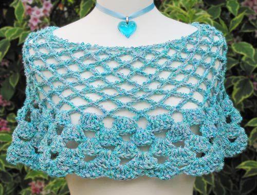 Crochet Pattern Central Free Poncho Crochet Pattern Link Directory