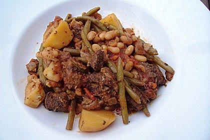 Lammtopf mit Bohnen und Kartoffeln (Rezept mit Bild) | Chefkoch.de