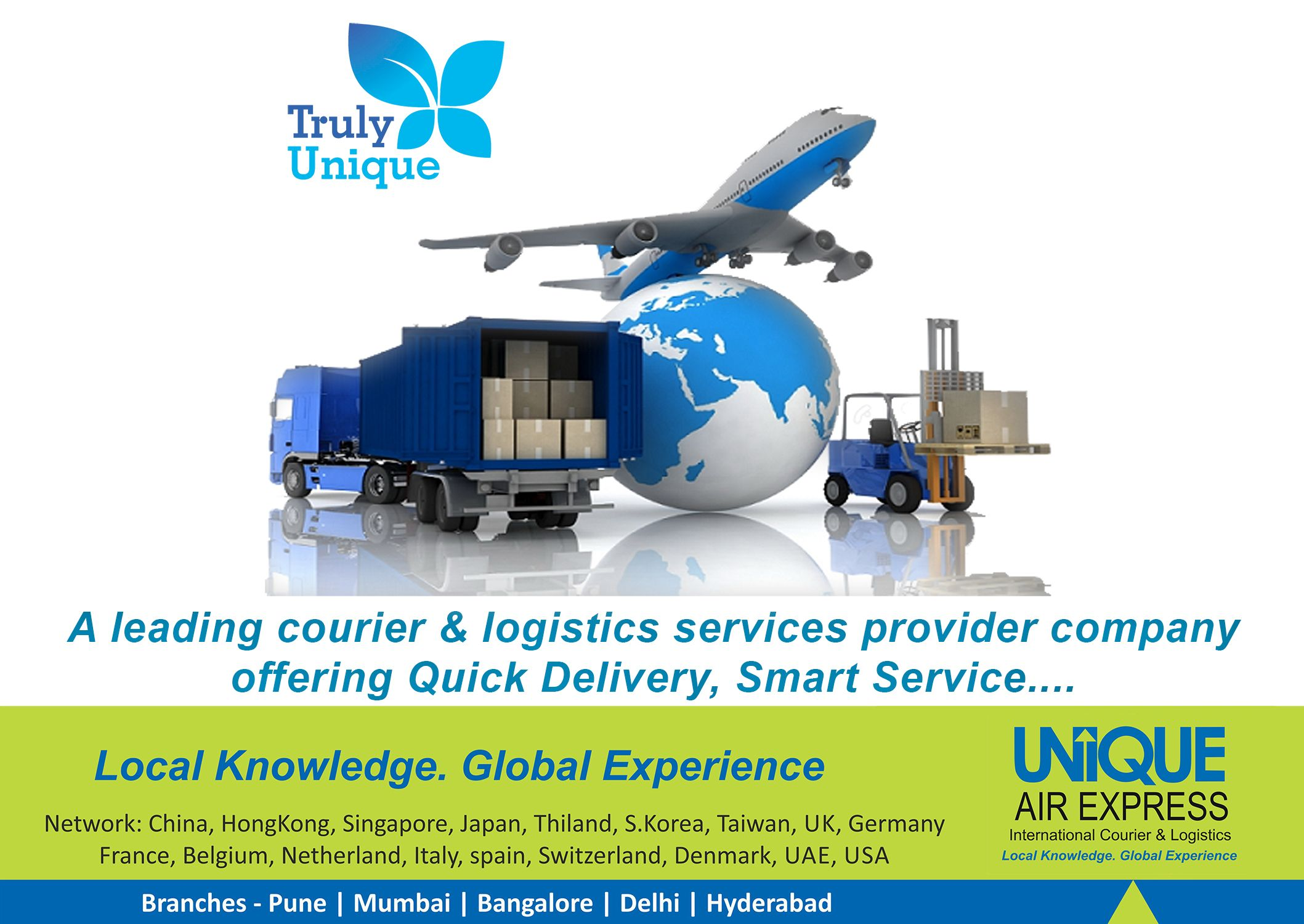 We are the #Company Transforming #international #Courier
