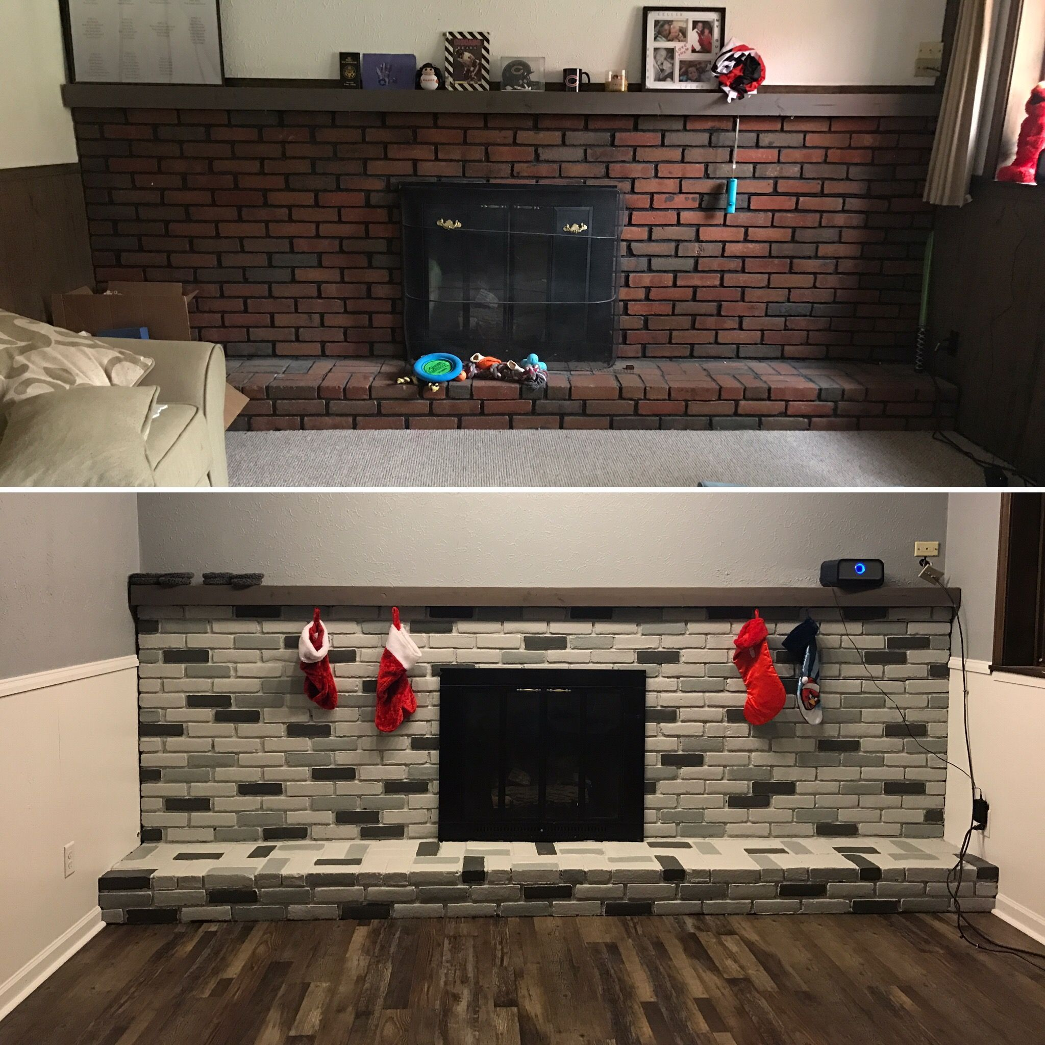 Basement Remodel Before And After
