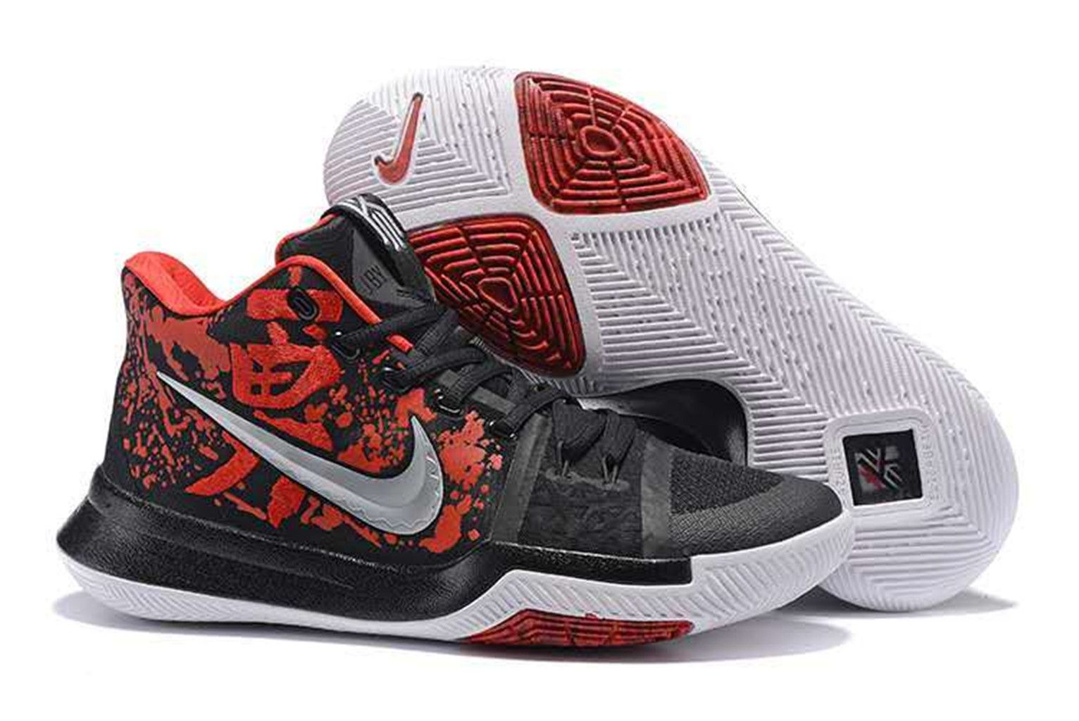 d7a70207b43 NBA Kyrie Irving 3 SAMURAI Basketball Shoes on www.airhuarache6.com ...